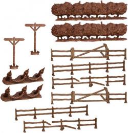 Terrain Crate: Fences & Hedgerows