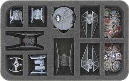 Feldherr Gąbka na X-Wing: TIE Silencer (11 otworów)