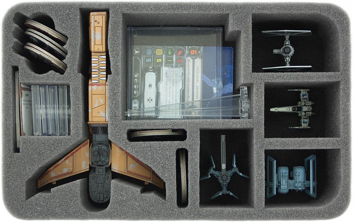 Feldherr Gąbka na X-Wing: Hounds Tooth, 5 statków i akcesoria