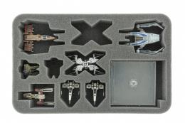 Feldherr Gąbka na X-Wing StarViper, M3-A Interceptor, IG-2000, Z-95 i Y-Wing (10 otworów)
