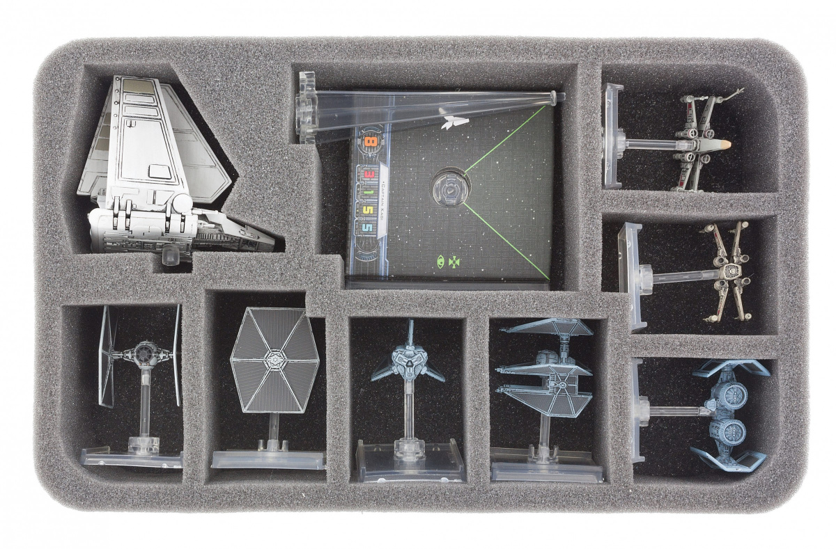 Feldherr Gąbka na X-Wing: Lambda Shuttle