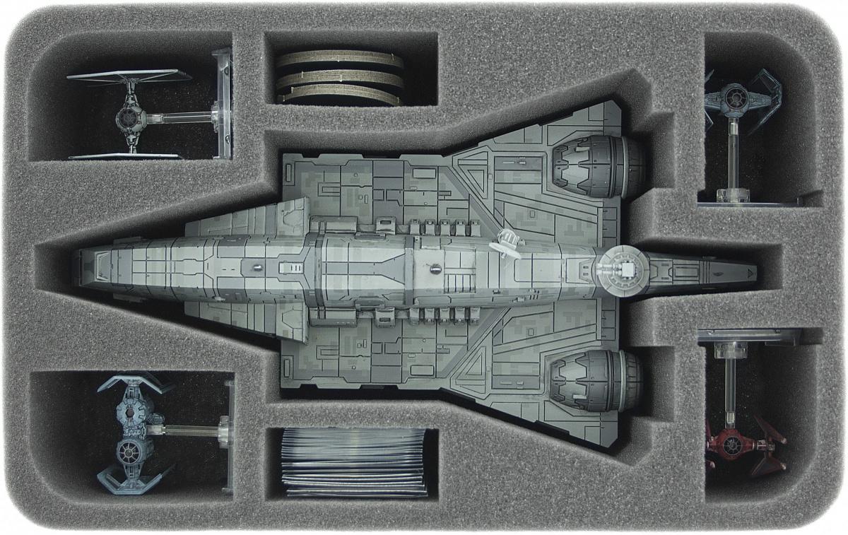 Feldherr Gąbka na figurki X-Wing: Imperial Assault Carrier, 4 statki i inne