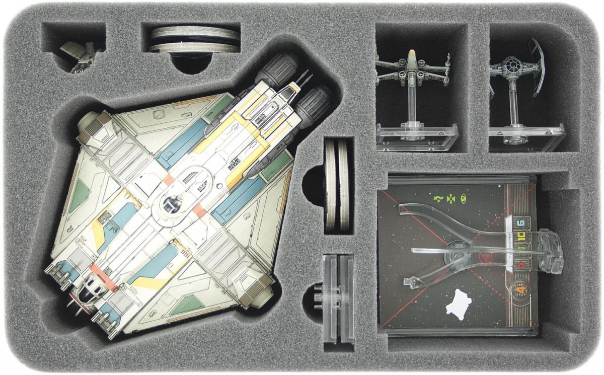 Feldherr Gąbka na X-Wing: Ghost