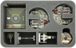 Feldherr Gąbka na X-Wing: 2x Punishing One (7 otworów)