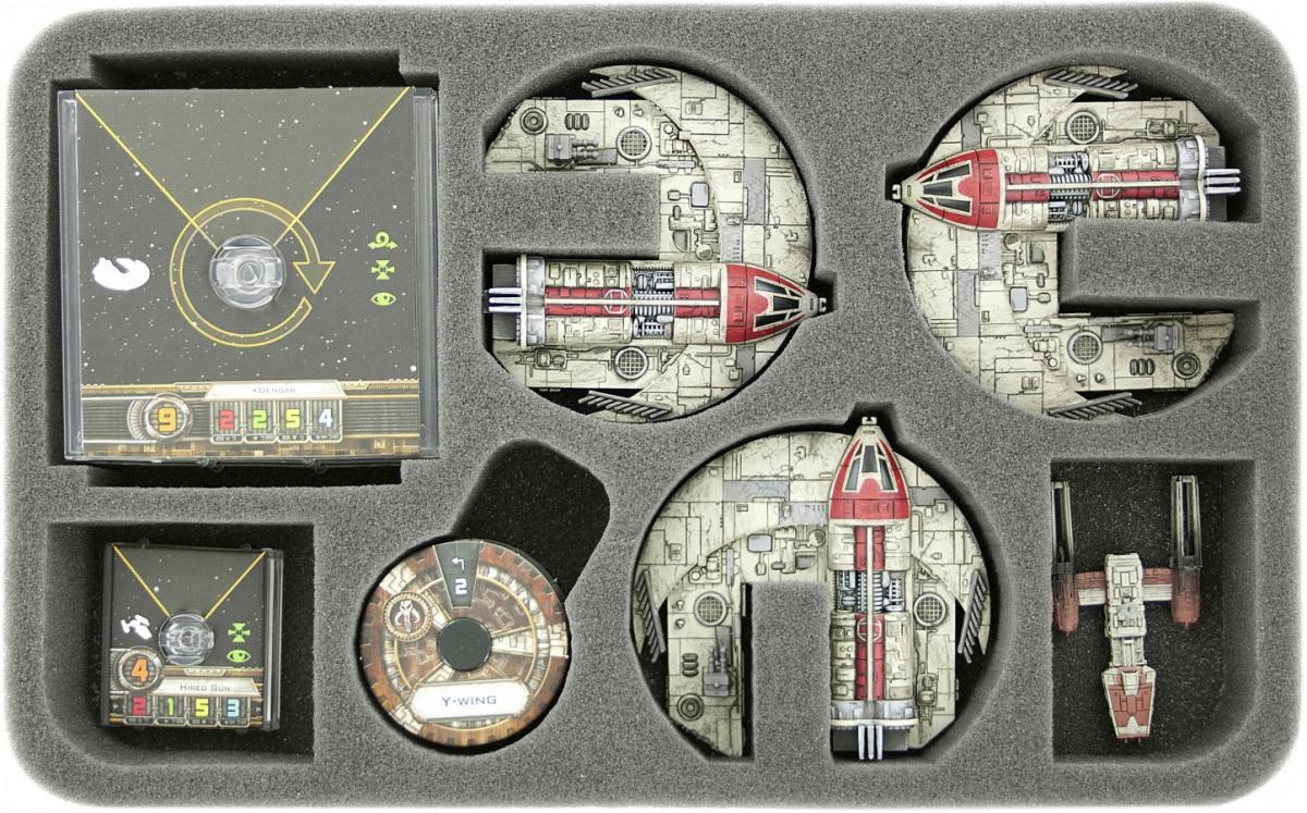 Feldherr Gąbka na X-Wing: 3x Punishing One (7 otworów)
