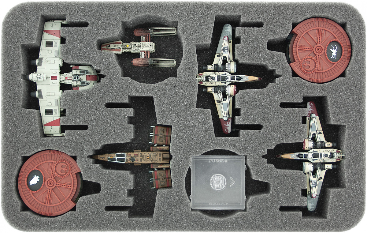 Feldherr Gąbka na X-Wing: 4x X-Wing Arc-170 lub K-Wing