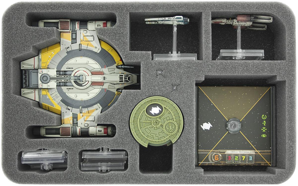 Feldherr Gąbka na X-Wing: Shadow Caster i akcesoria (7 otworów)