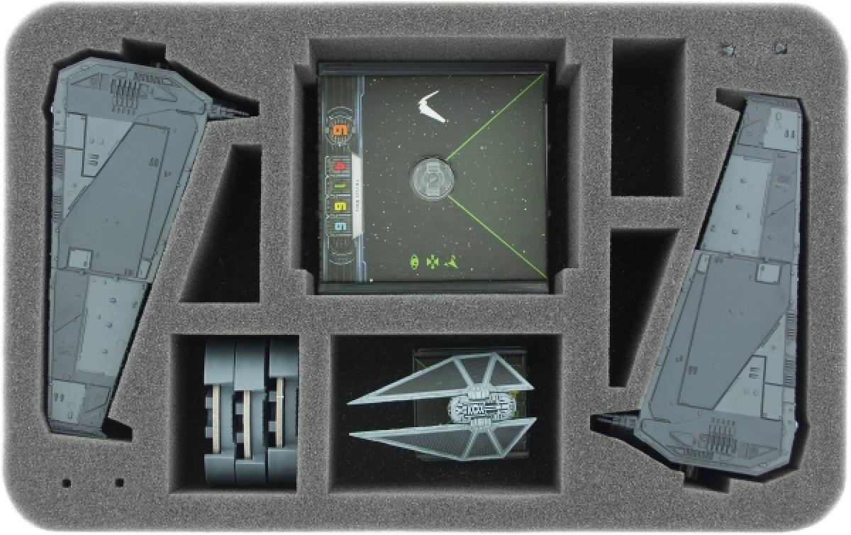 Feldherr Gąbka na X-Wing: 2x Upsilon