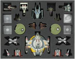 Feldherr Gąbka na X-Wing: Shadow Caster, StarViper, M3-A Interceptor, IG-2000, Z-95, Y-Wing i inne