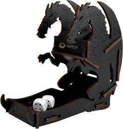 E-Raptor: Dice Tower - Dragon Black (Small)