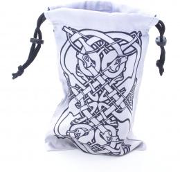 Sakiewka celtycka: Psy - srebrno-czarna
