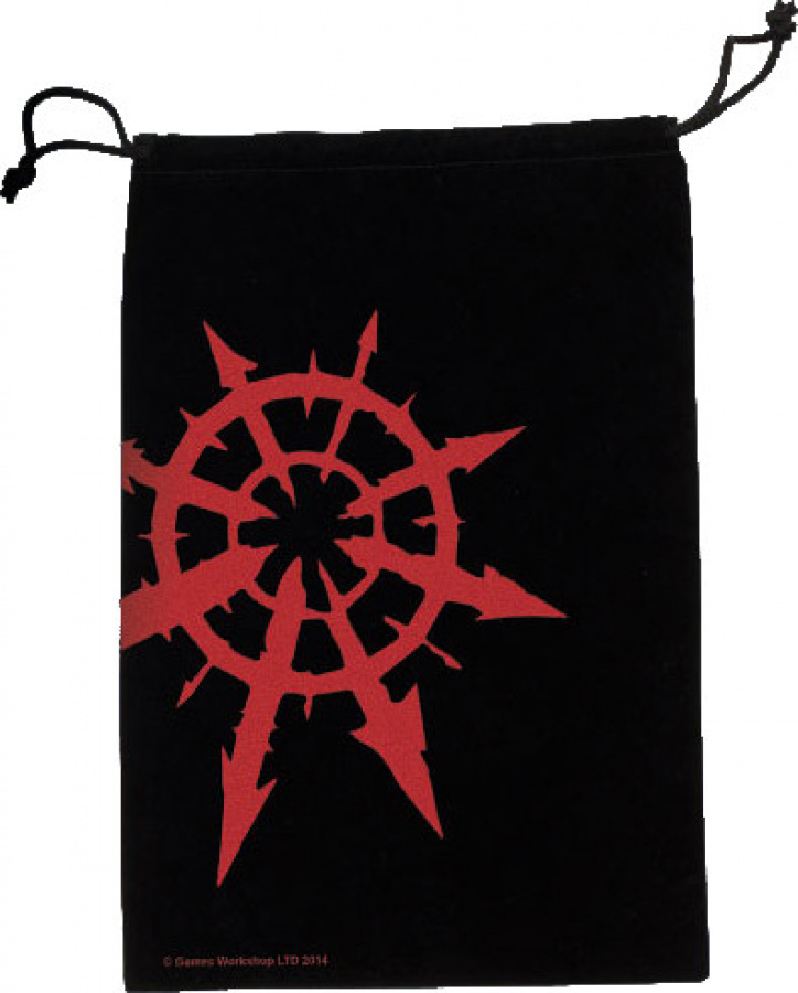 Fantasy Flight Supply Dice Bag: Chaos Star