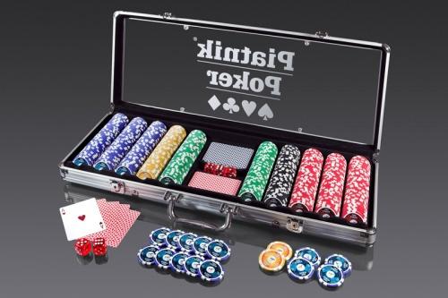 Pro Poker Alu-Case - 500 żetonów 14g