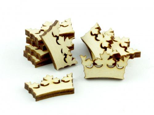 Crafters: Znaczniki drewniane - Kształt - Korona (10)