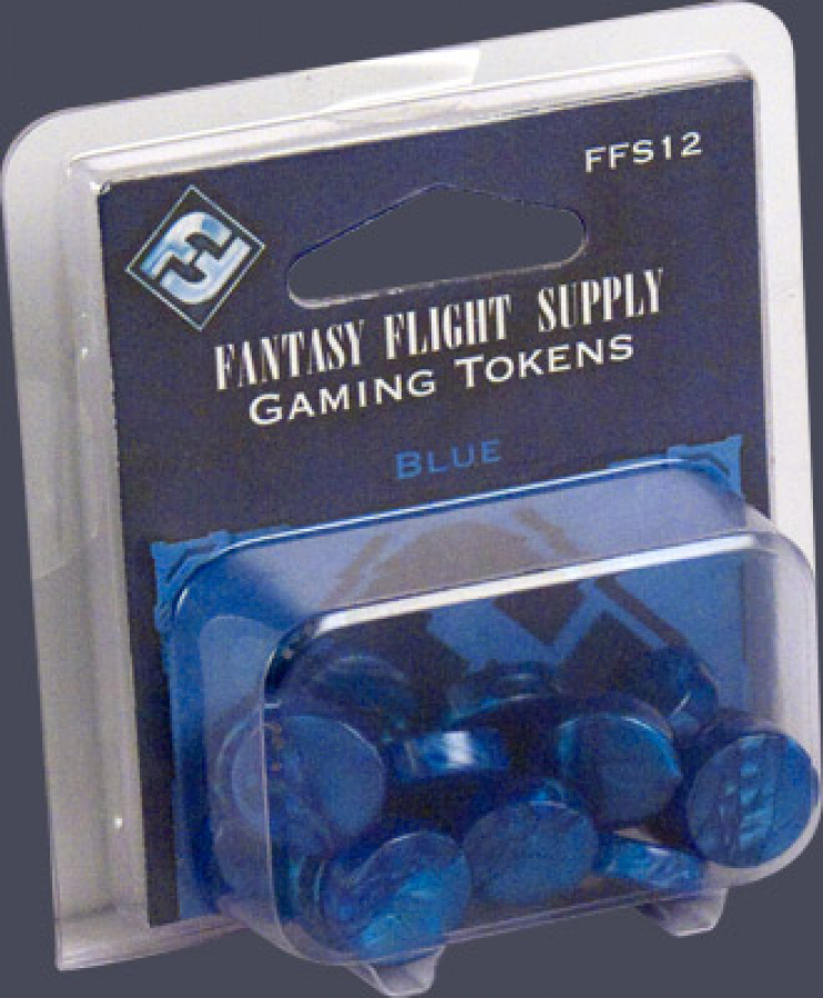 FFG Gaming Tokens: Blue