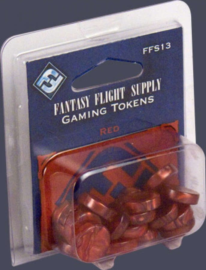 FFG Gaming Tokens: Red