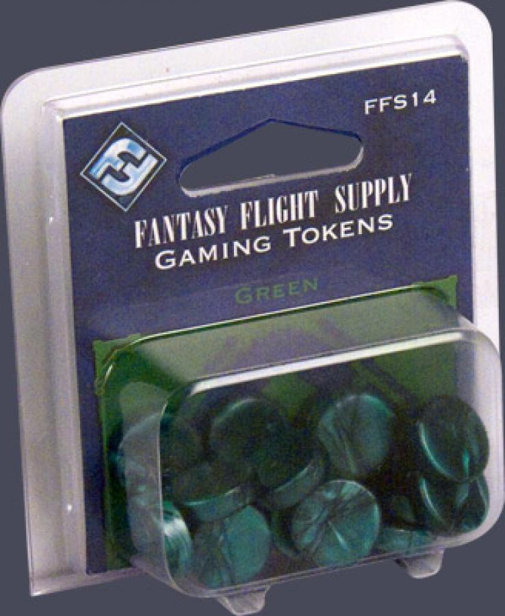 FFG Gaming Tokens: Green