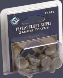 FFG Gaming Tokens: Silver