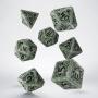 Komplet kości - Pathfinder: Tyrant's Grasp - Zielono-czarny