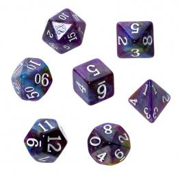 Komplet kości REBEL RPG - Akrylowe - Droga Mleczna