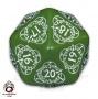 K20 Licznik poziomów do gier karcianych - Zielono-biała