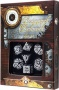Komplet Steampunk - Clockwork - Czarno-biały