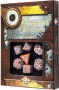 Komplet Steampunk - Clockwork - Karmelowo-Biały