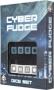 Komplet Kości Cyber Fudge - Czarno-niebieski