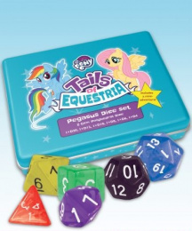 My Little Pony: Tails of Equestria RPG - Pegasus Dice Set