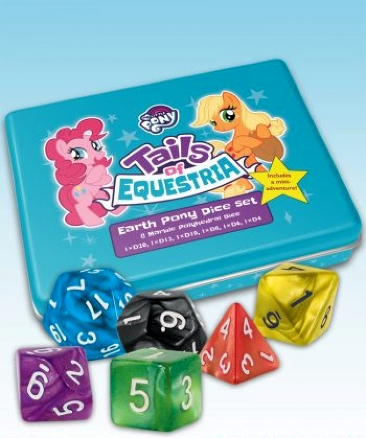 My Little Pony: Tails of Equestria RPG - Earth Pony Dice Set
