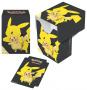 Deck Box Pokemon - Pikachu (yellow & black)
