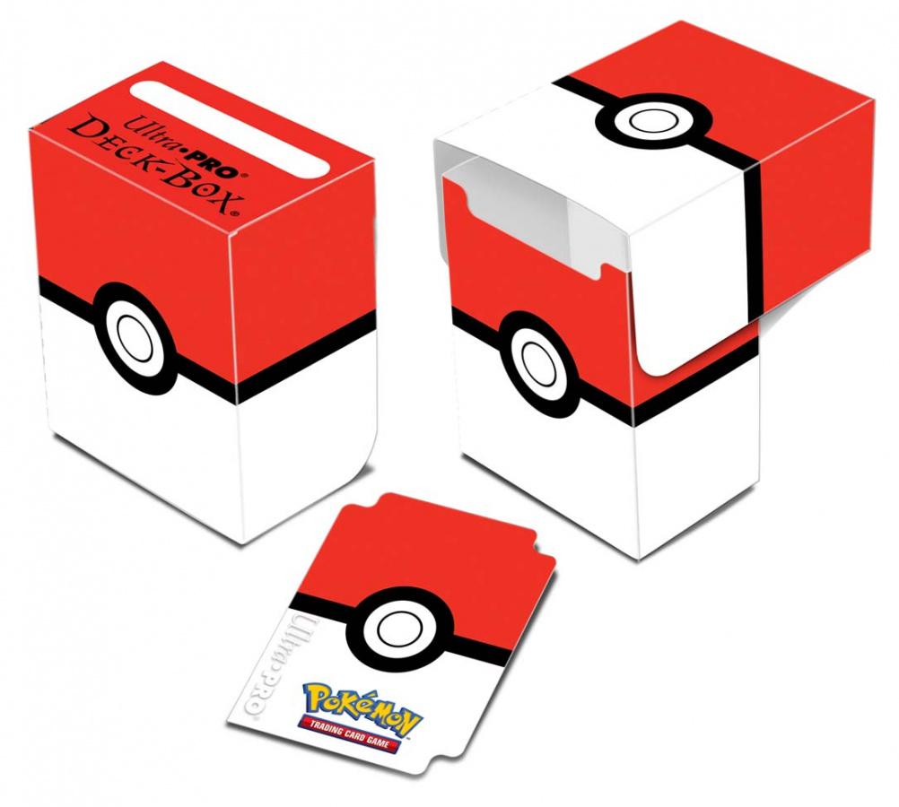 Deck Box Pokemon - Poke Ball