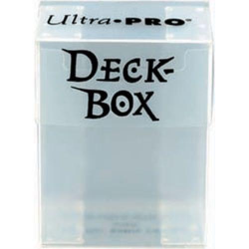 Deck Box - Clear White
