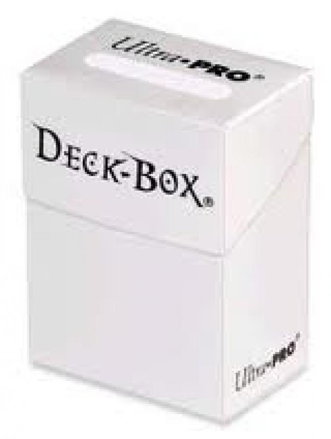 Deck Box - White