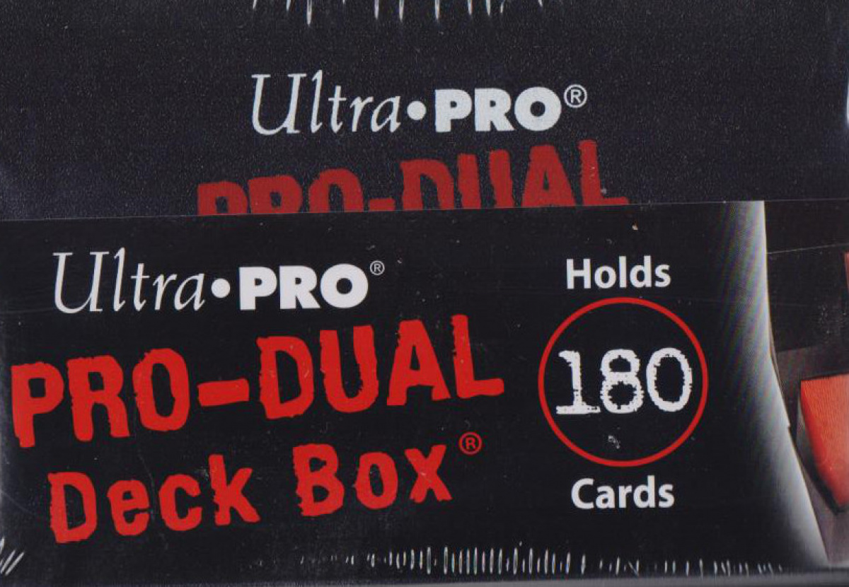 Pro-Dual Deck Box - Black (czarny) 180
