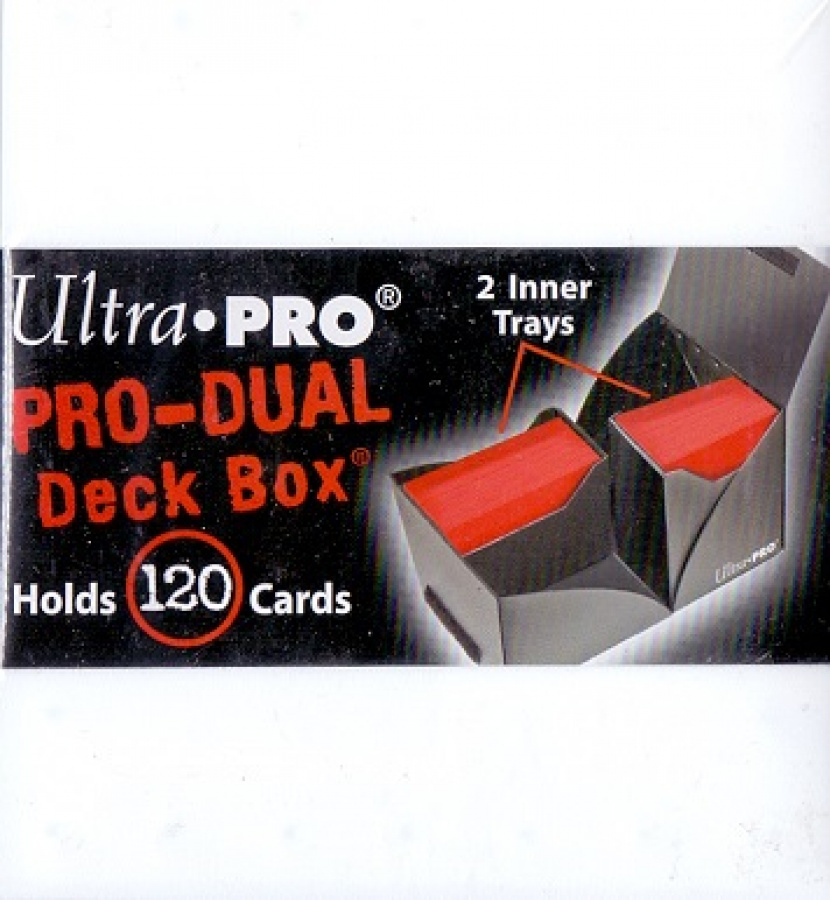 Pro-Dual Deck Box - White (biały) 120