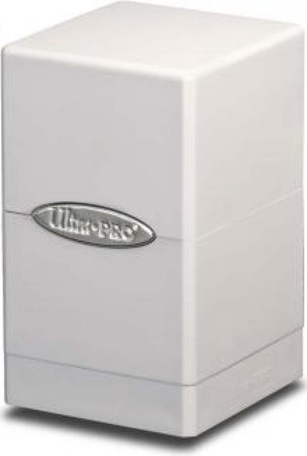 Satin Tower Deck Box - White (biały)