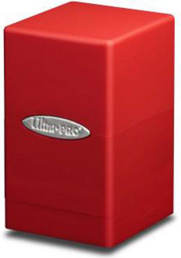 Satin Tower Deck Box - Red (czerwony)