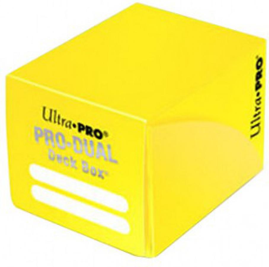 Pro-Dual Deck Box - Yellow (żółty) 120