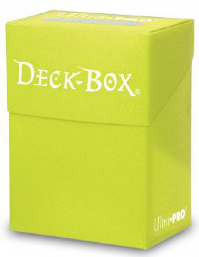 Deck Box - Bright Yellow