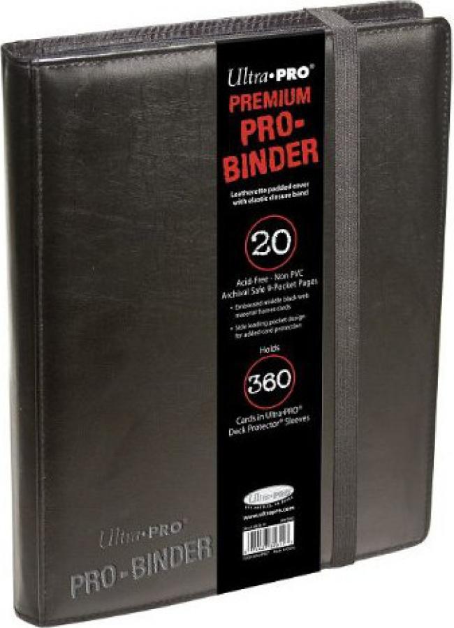 Pro-Binder Premium - Black 360 (Czarny)