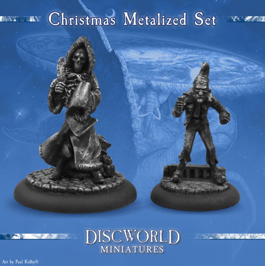 Discworld Christmas Metalized set (2)