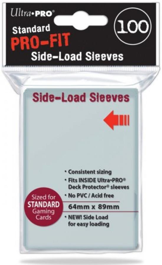 ULTRA-PRO Standard Pro-Fit Side-Load Sleeves 100