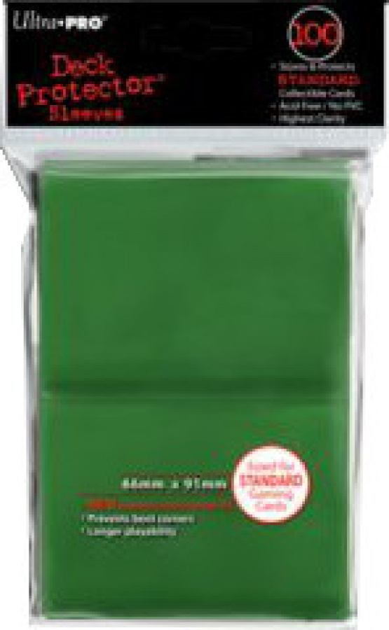 ULTRA-PRO Deck Protector - Green (Zielone) 100