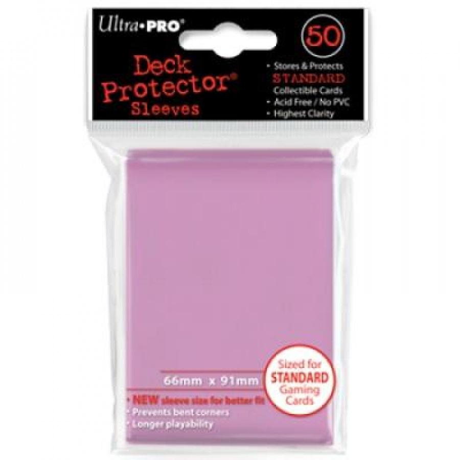 ULTRA-PRO Deck Protector - Solid Pink (Różowe) 50