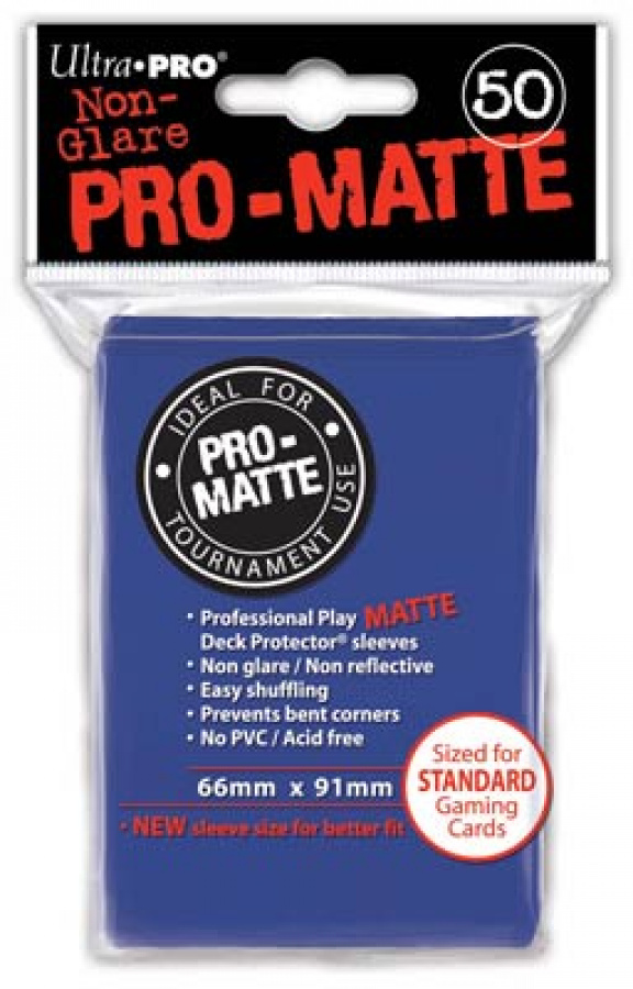 ULTRA-PRO Deck Protector - Pro-Matte Non-Glare Blue (Niebieskie) 50