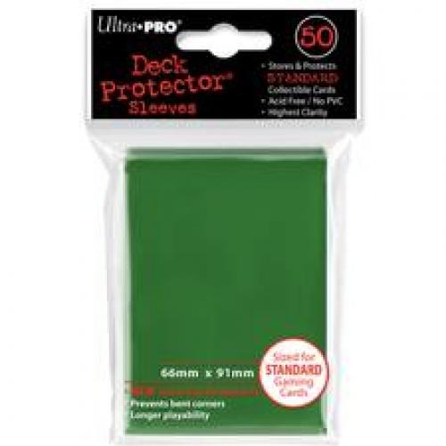 ULTRA-PRO Deck Protector - Solid Green (Zielone) 50