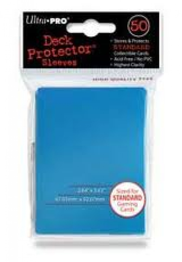 ULTRA-PRO Deck Protector - Solid Light Blue (Jasnoniebieskie) 50 szt.