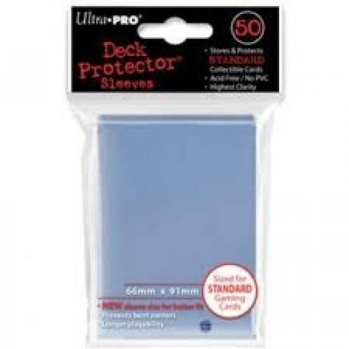 ULTRA-PRO Deck Protector - Solid Clear (Przezroczyste) 50