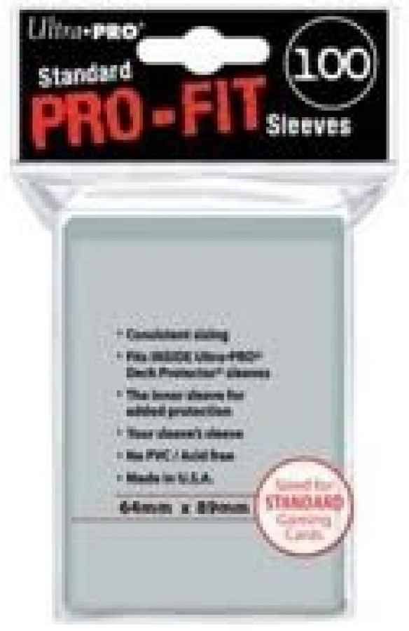 Ultra Pro Standard Pro-Fit Sleeves 100